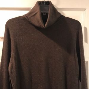 Mossimo Brown Turtleneck Sweater